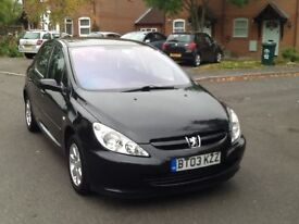 Peugeot 307 S 1.6l 2003 Taxed and MOTed