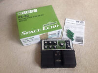 Boss RE-20 Space Echo pedal