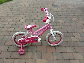 "Girls 14"" hello kitty bike for sale"