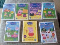 Peppa pig and other kids DVDs