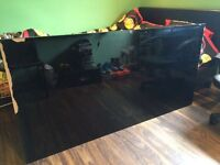 Black Gloss table (no chairs) dismantled and ready for pick up, it folds in half too see other pic