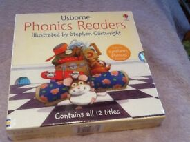 Usborne children's phonic reading books