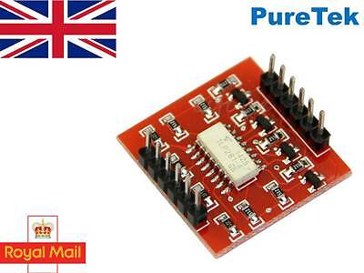 Tlp281 4 Channel Opto-isolator Breakout For Arduino Optoisolator Optocoupler