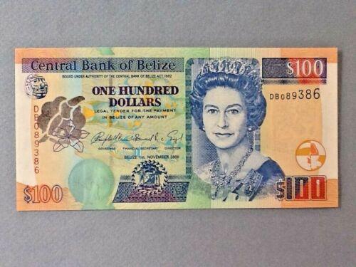Belize 100 Dollars P-71-b 2006