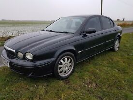 JAGUAR X TYPE 2005, DIESEL 11MTHS MOT EXCELLENT CONDITION, BLACK, NEARLY NEW TYRES