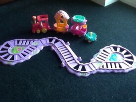 My Little Pony train and track toy