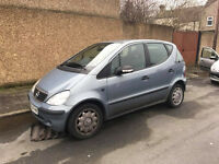 mercedes a class 54 plate needs attention spares or repair