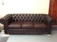 Lovely Chesterfield sofa by Thomas Lloyd.