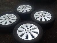 "Vauxhall Zafira 16"" 5x110 alloy wheels"