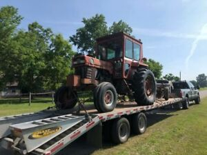Flatbed Float Service Tractors Backhoes Equipment Trailers