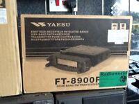 Yaesu FT 8900 quad band transceiver for 2,70,6,&10M