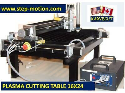 Small Cnc Plasma Cutting Table Kit 16 X 24 From Karvecutthctorch