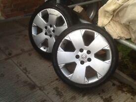 17inch alloys Vauxhall