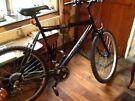 Men's Black Ridgeway Rigid Mountain bike