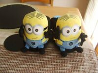 minion stompies 3/4 worn once £3 collection from didcot from a smoke and pet free home