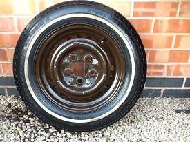 4x original VW Campervan wheels