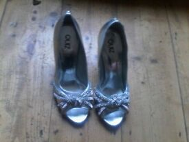 Silver size 7 shoes