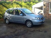 Chevrolet Tacuma CDX Plus, 2006, full M.O.T., full spec.