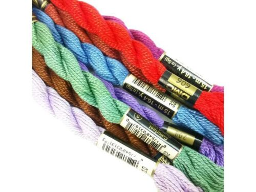 DMC Pearl Cotton 3 Thread Cross Stitch Needlepoint Stitching