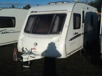 2007,swift Arran fixed bed 4 berth with fitted mover
