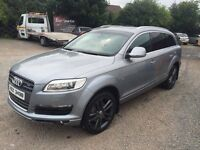 @@@ AUDI Q7 3.0TDI year Mot Sat Nav Leather TV @@@ not mercedes ml bmw x5 touareg sharan galaxy