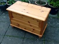 Pine Cabinet or blanket box