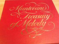 Mantovanis treasury of Melody vinyl box set 8 records