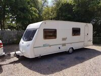 Lunar Zenith Six 6 berth caravan Light To Tow Awning Great Family Layout !!