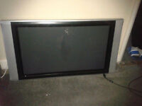 Big screen wall TV