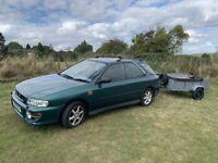 1999 Subaru IMPREZA 2.0 AWD Estate long MOT with TRAILER