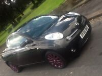 2006 NISSAN MICRA SPORT C+C CONVERTIBLE SPECIAL EDITION PINK WITH FSH