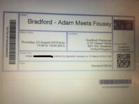 Adam meets Fousey (Standard) Tickets