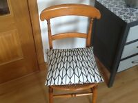Victorian Pine KItchen Chair