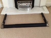 Fire hearth surround edging