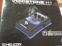 Professional Voice Harmony Foot pedal. VOICETONE H1 made by T C Helicon