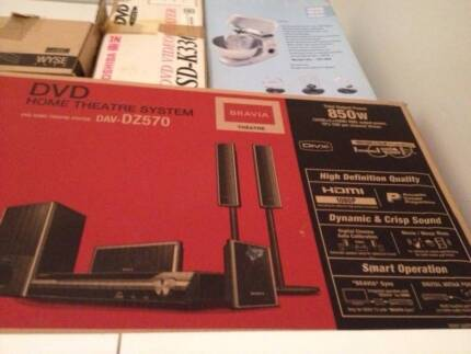 Sony Home theatre system_DZ570-Bravia- 850 watts-unopened box Carlton Melbourne City Preview
