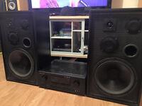 marantz sr6200 amplifier & American Acoustics D5550E Speakers
