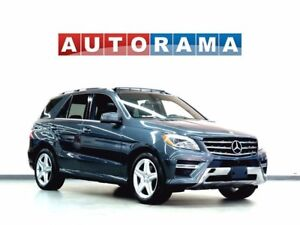 2014 Mercedes-Benz ML 350 BLUE TECH NAVIGATION LEATHER SUNROOF 4