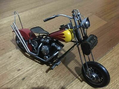 Handmade Die-cast Metal crafts Motorbike Model Motor cycle Decor Collection