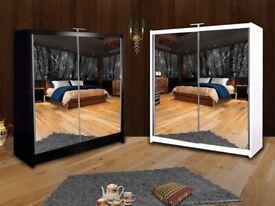 🤩WARDROBE- Brand New Mirror Sliding Door QUEEN Wardrobes Available-Quick Delivery-1 Year Warranty🤩