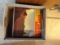 Music Bargain! Mixed box of LPs. Box of 50 LPs