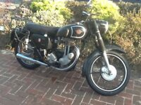 Vintage matchless 350 1956