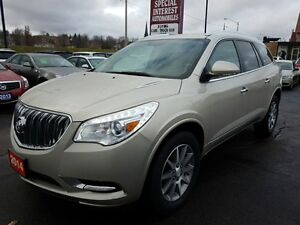 2014 Buick Enclave Leather LEATHER !!! REAR DVD ENTERAINMENT...