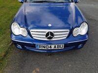 Mercedes-benz c270CDI NEW MOT Good Tyres