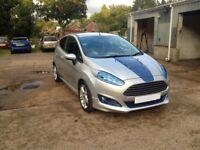 2010 Ford Fiesta 1.6 tdci zetec S ,tuning,custom,long MOT,low mileage,prev cat D