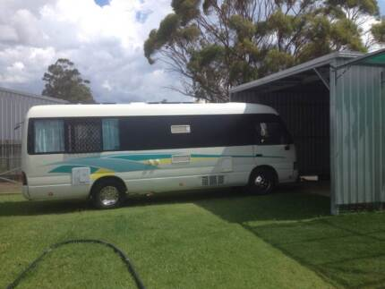 Immaculate 1996 Toyota Coaster Campervan Dalby Dalby Area Preview