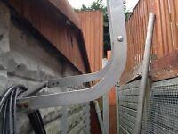 4.5 m Aluminium roof ladder