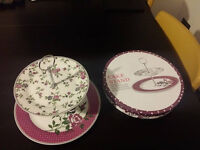 Porcelain Cake Stand used only once