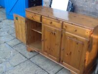 Sideboard made in Victoria antique pine by Ducal quality pine furniture