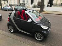 2009 Smart FORTWO CABRIO, convertible 0.8L, 31,500 miles, Full service and ownership history, £4000